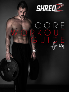 Core Workout for Him Cover