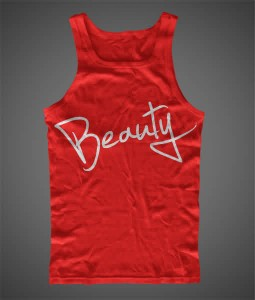 BEAUTY Hand Printed Tank